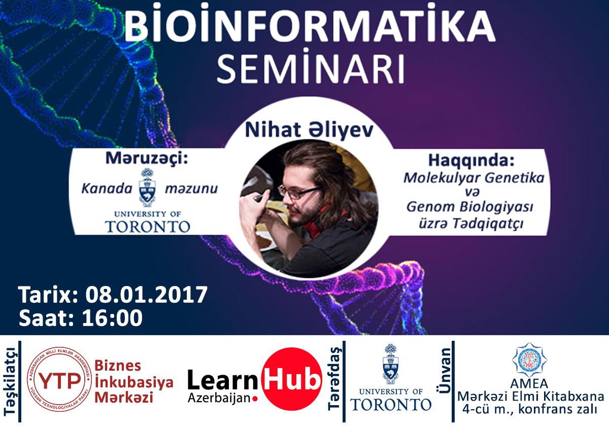 """AMEA-da """"Bioinformatika"""" ilə bağlı seminar keçiriləcək"""