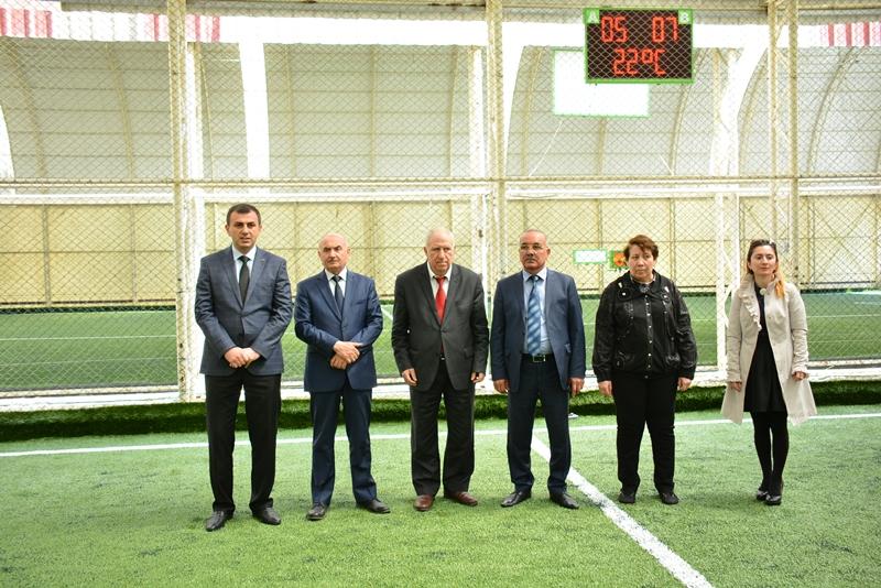 AMEA Gənc alim və mütəxəssislərinin IV Futbol Çempionatının start fiti çalındı