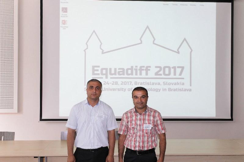 AMEA İdarəetmə Sistemləri İnstitutunun əməkdaşları Slovakiyada Beynəlxalq konfransda iştirak ediblər