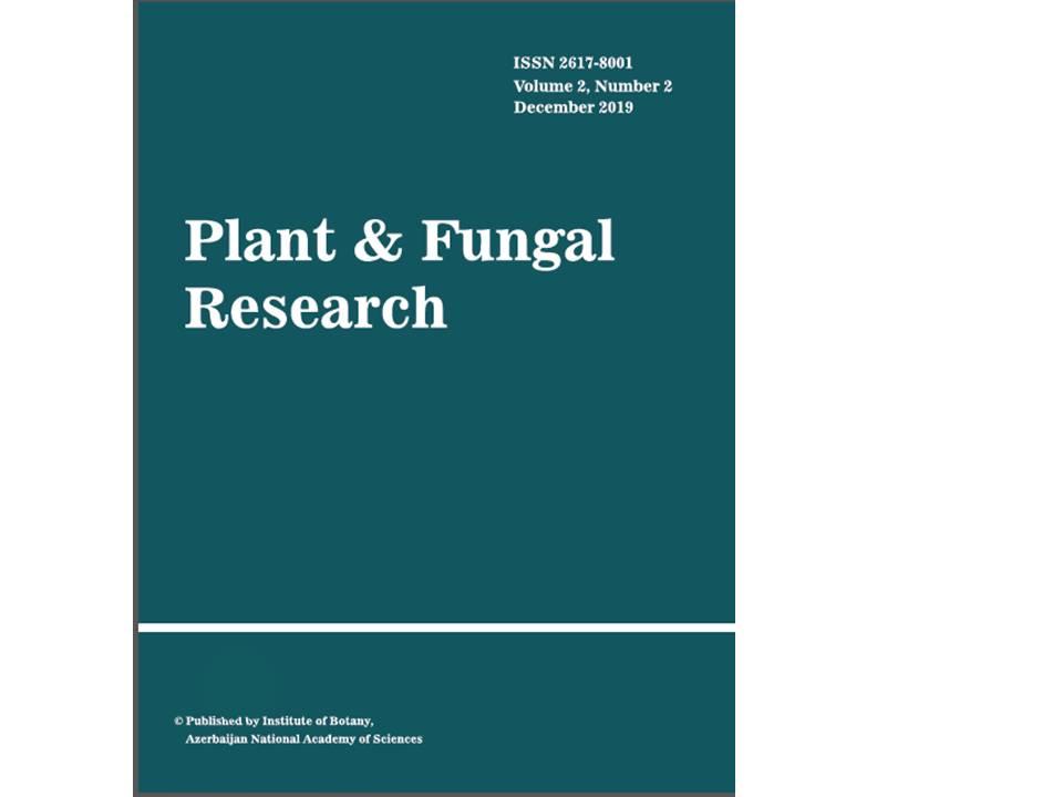 """""""Plant & Fungal Research"""" beynəlxalq jurnalının 3-cü nömrəsi çap olunub"""