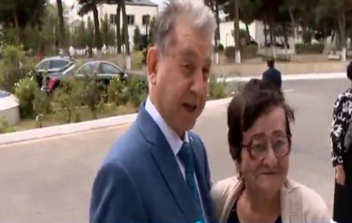 """Akademik Akif Əlizadə 65 il AMEA-da işləyən qadını """"Qocalar evi""""ndə tapdı"""