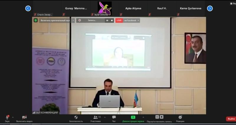 AMEA Torpaqşünaslıq və Aqrokimya İnstitutunda beynəlxalq elmi-praktiki konfrans keçirilib