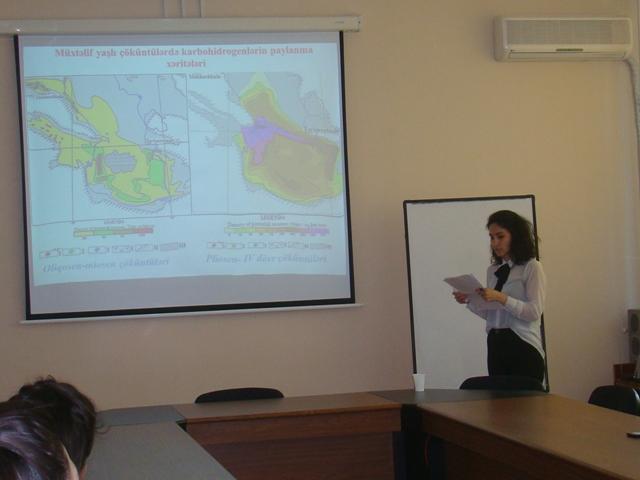 Cari ildə AMEA Geologiya və Geofizika İnstitutunda gənc alimlərin ilk elmi seminarı keçirilib