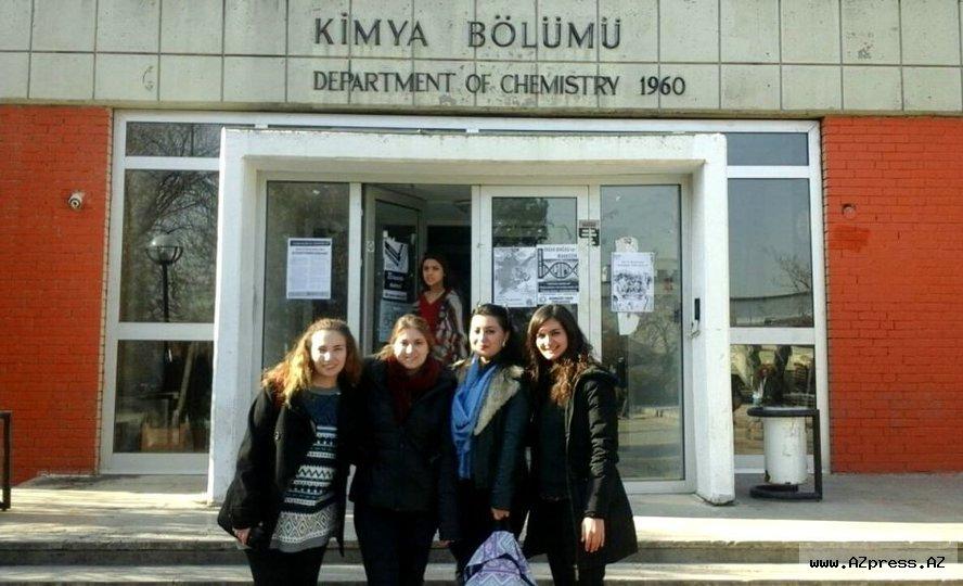 Aşqarlar Kimyası İnstitutunun doktorantı Türkiyənin Orta Doğu Texnik Universitetində təcrübə keçib