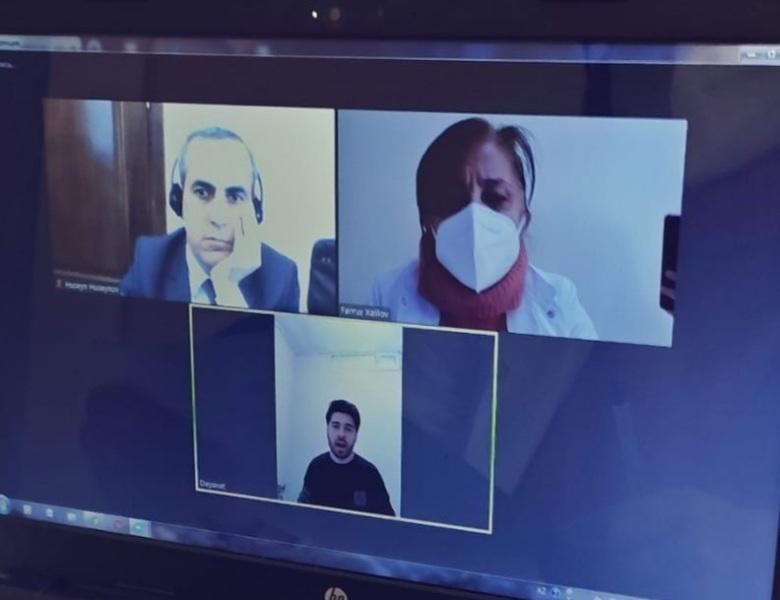 AMEA Torpaqşünaslıq və Aqrokimya İnstitutunda magistrantların qış imtahan sessiyası davam edir