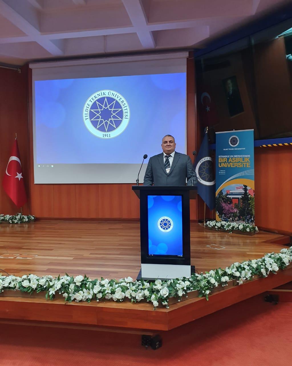 Gənc alim İstanbulda beynəlxalq konfransda məruzə edib