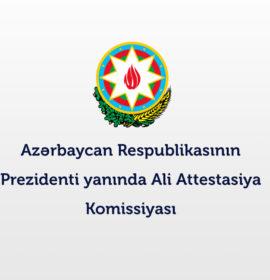 Ali Attestasiya Komissiyası işçi axtarır