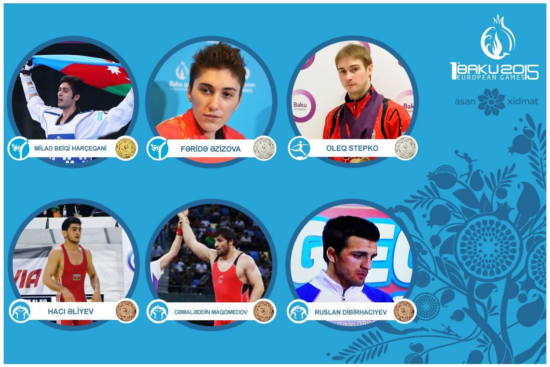 Azərbaycan idmançıları Birinci Avropa Oyunlarında tarix yazırlar