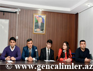 Council of Young scientists and specialists held a meeting with young scientists at the Institute of Radiation Problems