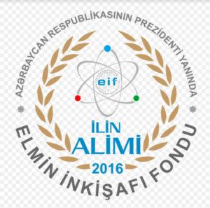 """Elmin İnkişafı Fondu """"2016-cı ilin alimi"""" mükafat müsabiqəsi elan etdi"""