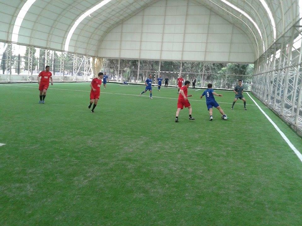 AMEA-nın Gənc Alim və Mütəxəssislərinin II Futbol çempionatının ¼ final mərhələsinin oyunları keçirilib
