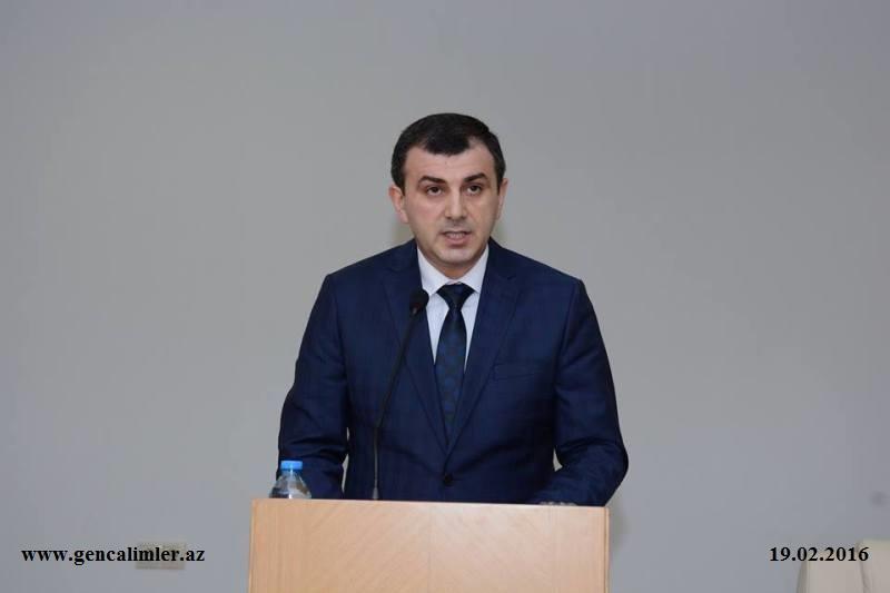 AMEA Gənc Alim və Mütəxəssislər Şurasının 2015-ci il üzrə hesabatı