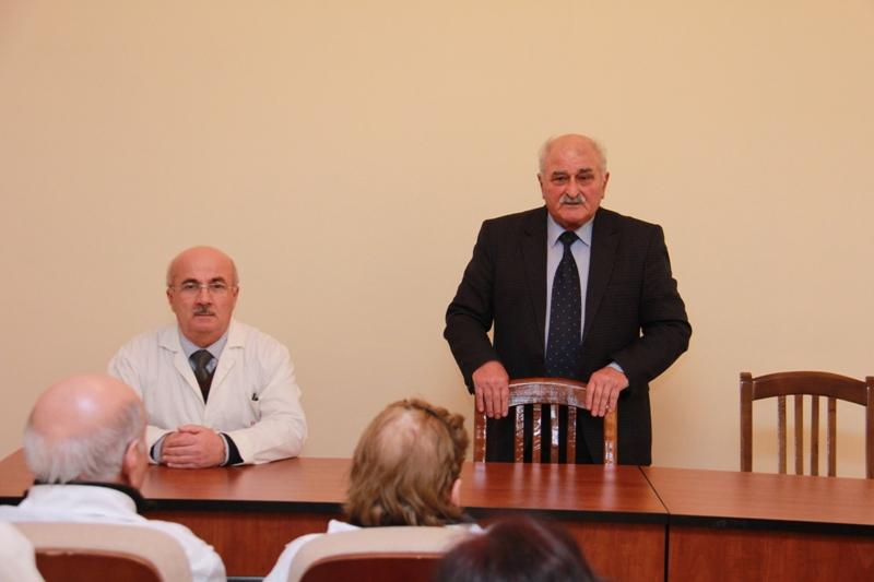 AMEA Aşqarlar Kimyası İnstitutunda 20 Yanvar faciəsinin 28-ci ildönümünə həsr olunan anım tədbiri keçirilib