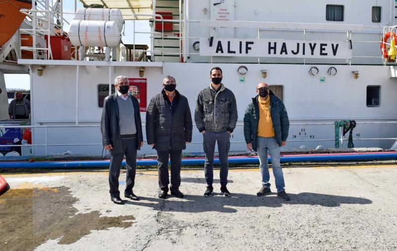 AMEA Fiziologiya İnstitutunun əməkdaşı Xəzər dənizində aparılan monitorinqdə iştirak edib