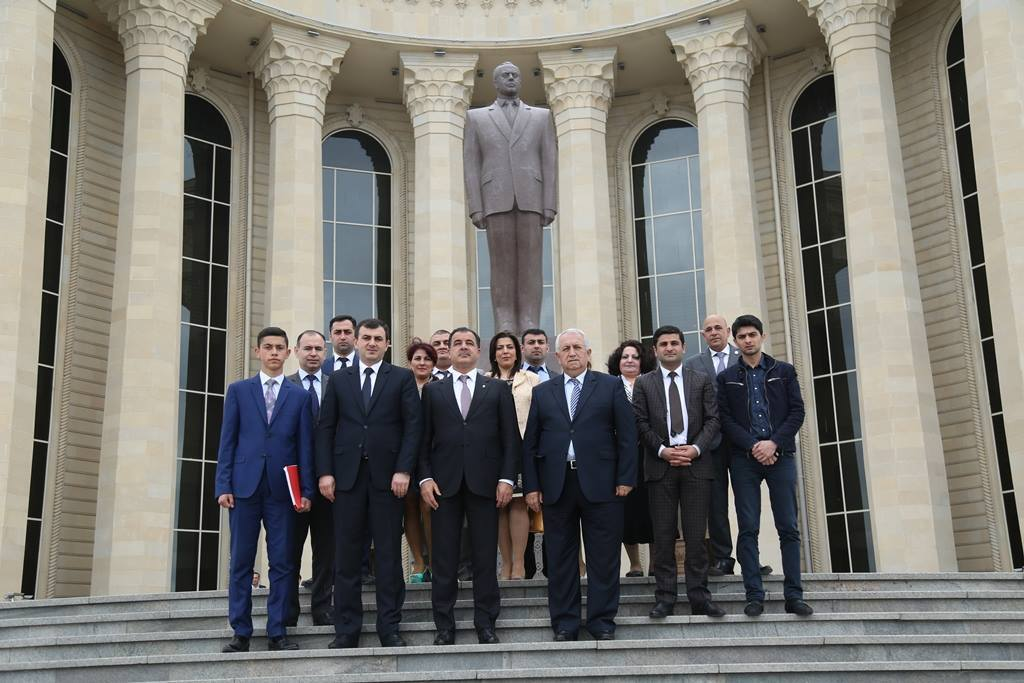 "In Ganja has been held scientific-practical conference on the theme of ""Heydar Aliyev and modern scientific youth"""
