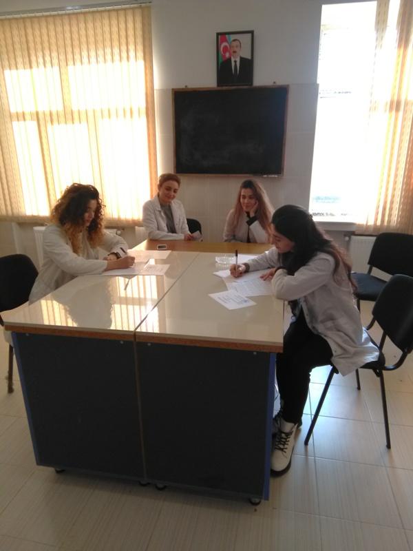 AMEA Aşqarlar Kimyası İnstitutunda magistrantların qış imtahan sesiyası başlayıb