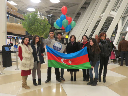 "Members of the ""Small Academy"" awarded at the International Olympiad"