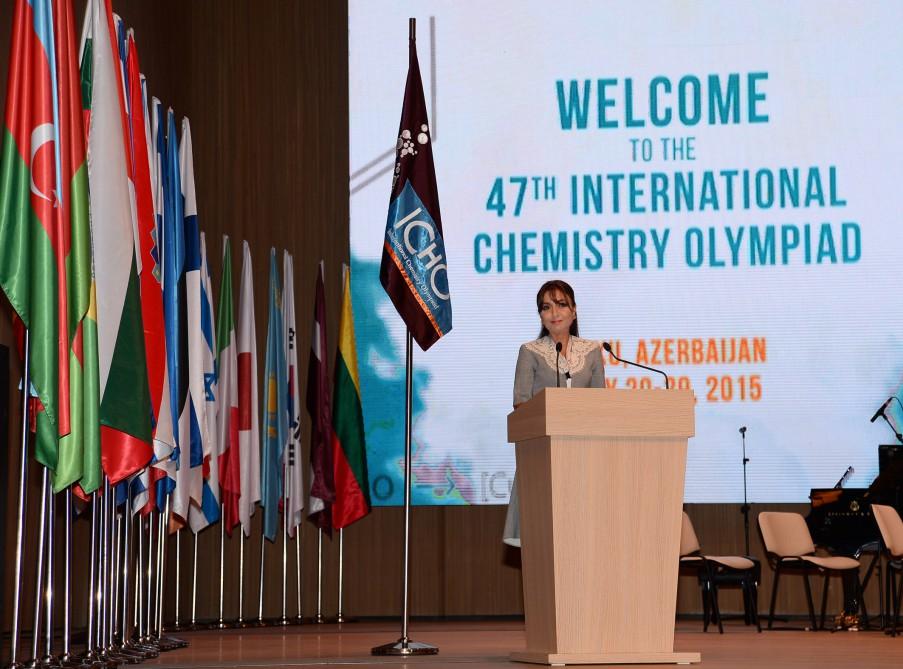 Azərbaycanda ilk dəfə keçirilən 47-ci Beynəlxalq Kimya Olimpiadası öz işinə başladı