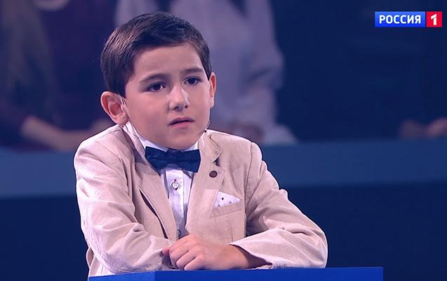 """""""Kalkulyator insan"""" adlanan 6 yaşlı Ruslan öz cavabları ilə """"Rusiya 1"""" kanalının tamaşaçılarını heyrətləndirdi"""