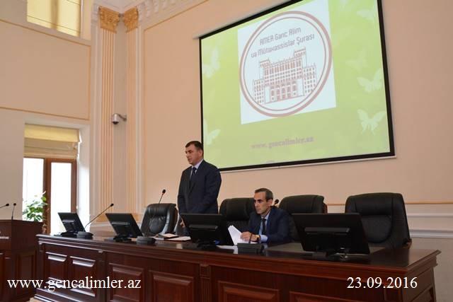AMEA Gənc Alim və Mütəxəssislər Şurasında bakalavr və magistrantlarla iş üzrə yeni sektor yaradıldı
