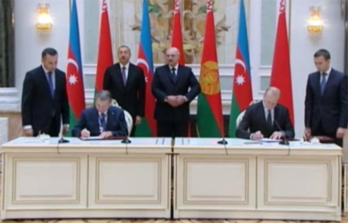 Azərbaycan və Belarus Milli Elmlər Akademiyaları arasında əməkdaşlıq haqqında Saziş imzalanıb