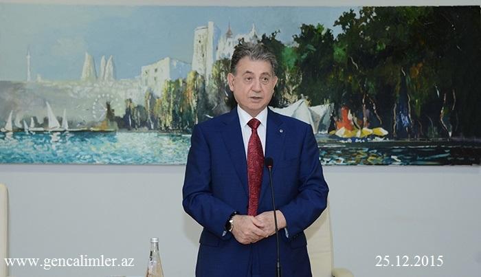 AMEA-nın prezidenti, akademik Akif Əlizadə gənclərlə görüş keçirdi
