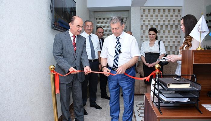 """AMEA-nın """"Qonaq Evi"""" açıldı"""