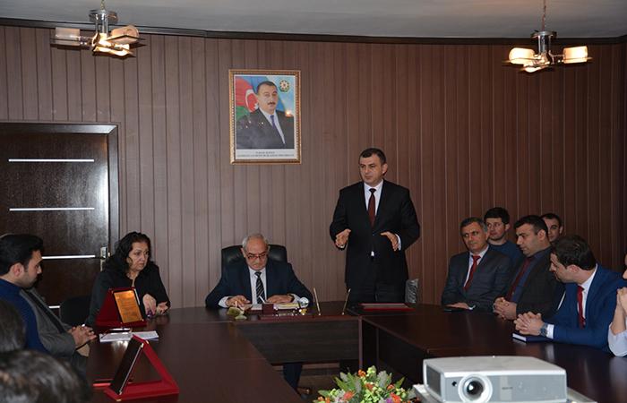 AMEA Radiasiya Problemləri İnstitutunun gəncləri 2 fevral- Gənclər Günü ilə bağlı mükafatlandırıldılar