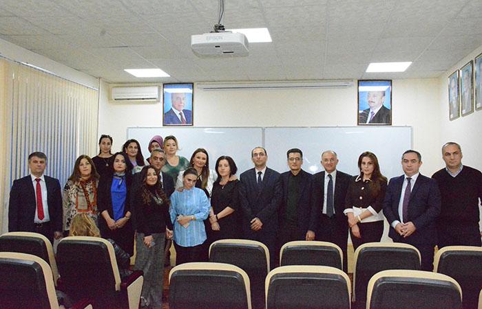 AMEA-nın professorlarının koordinasiya şurasının yeni tərkibdə iclası keçirilib