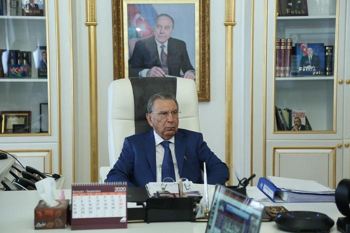 Akademik Ramiz Mehdiyev Beynəlxalq Elmlər Akademiyaları Assosiasiyasının həqiqi üzvü seçilib