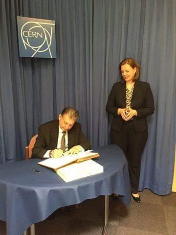 AMEA Avropa Nüvə Tədqiqatları Təşkilatı ilə əməkdaşlığı genişləndirir