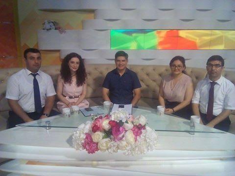 """AMEA Gənc Alim və Mütəxəssislər Şurasının AzTV-nin """"Səhər"""" proqramının qonağı olublar"""