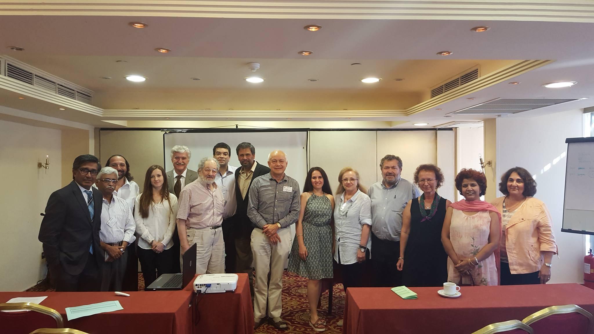 Aşqarlar Kimyası İnstitutunun gənc doktorantı Afinada Beynəlxalq konfransda iştirak edib