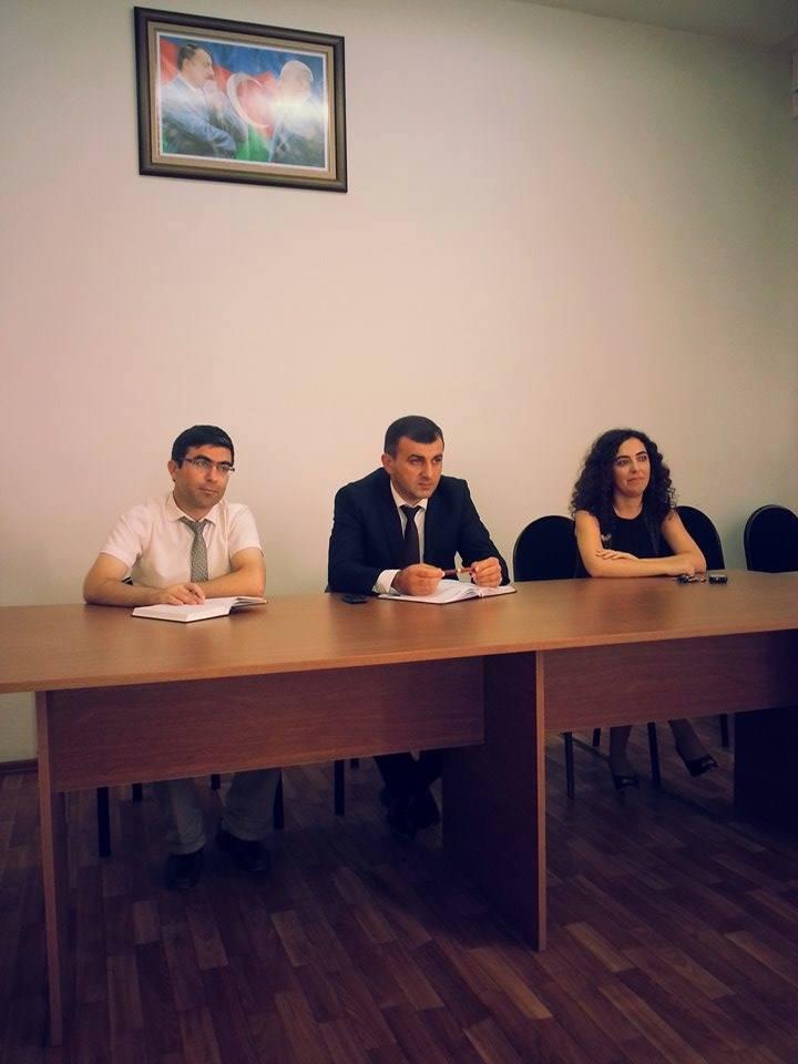 AMEA Gənc Alim və Mütəxəssislər Şurasının monitorinq qrupu Zoologiya İnstitutunda